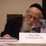 Rav Adin Steinsaltz : La Valeur de la Parole