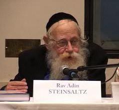 Rav Adin Steinsaltz Conférence
