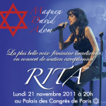 RITA va chanter pour le gala 2011 du MDA France