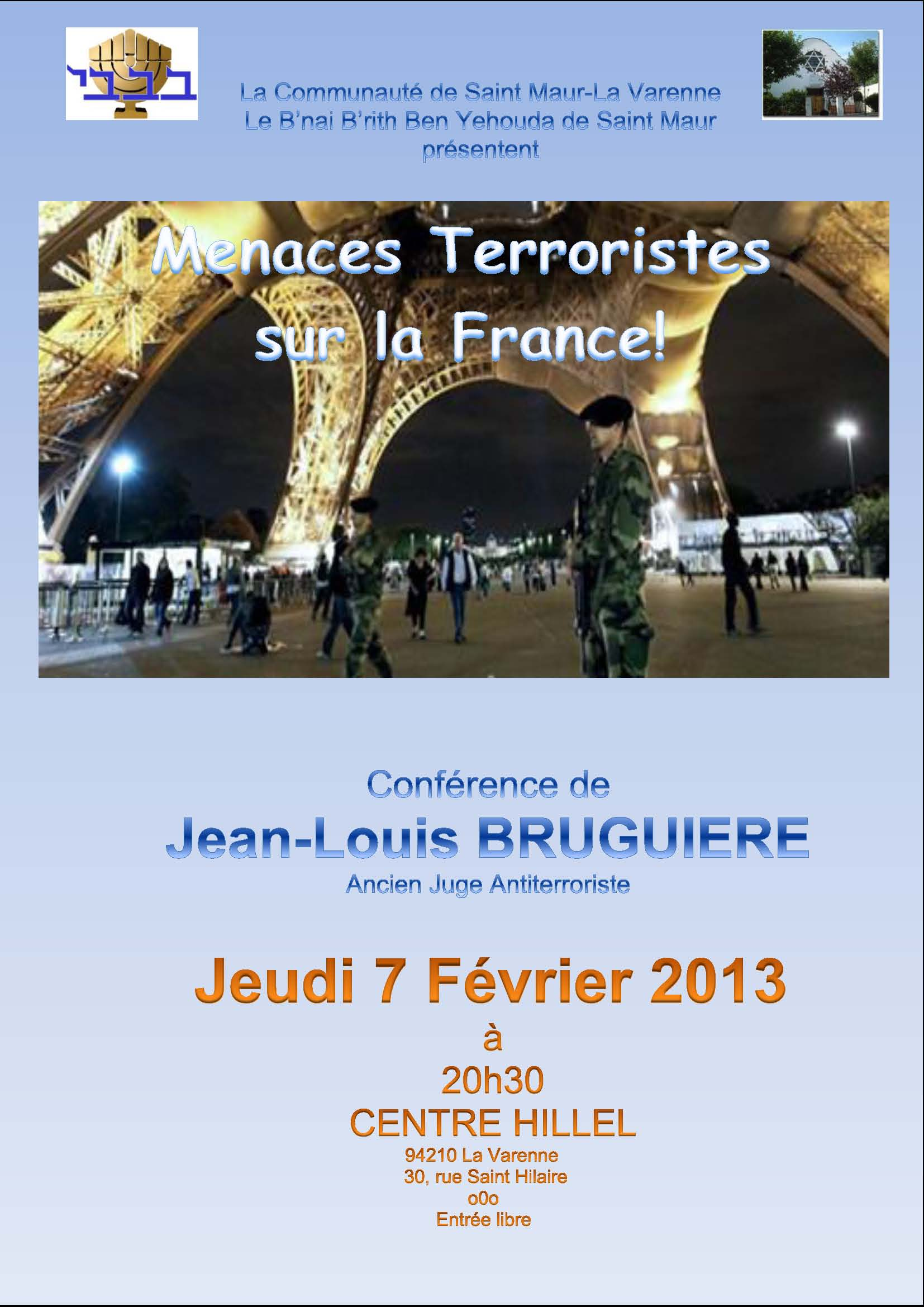 Conference Bruguieres 070213
